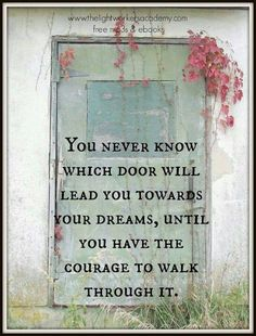 Have Courage❤️