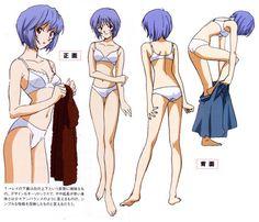 Neon Genesis Evangelion, Rei Ayanami, Anime Girl Cute, Anime Art Girl, Old Anime, Manga Anime, Female Character Design, Character Art, Female Characters