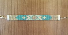 Bracelet Perles Tissées Aztèque