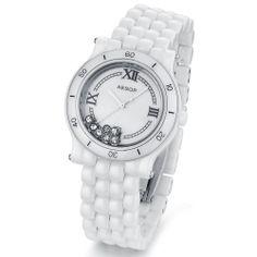 Aesop's imported genuine watches white ceramic Watch Blue Ridge mirror waterproof ladies watches ladies watch