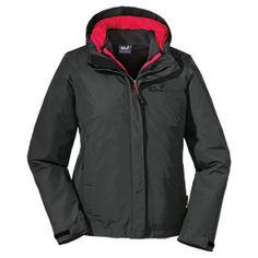 Lightweight, short and hard-wearing 3-in-1 hiking jacket - 3-in-1 hiking double jackets - 3-in-1 double jackets - All Jackets - Women - Appa...
