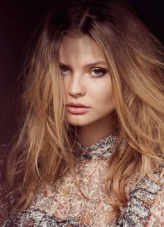 Magdalena Frackowiak - Elle France March 2016 - Photographed by David Bellemere - Veronique Branquinho Blouse