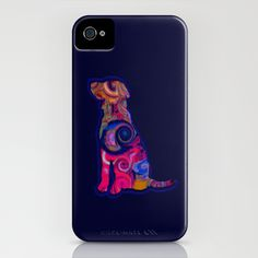 Psychedelic Dog iPhone Case
