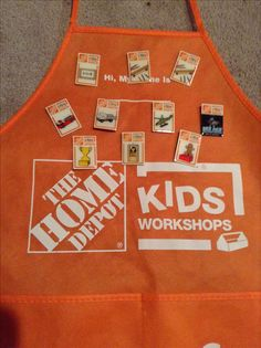 90a7859fe Come to Home Depots activity a and give your child a confident boost with a  reward for everything they build