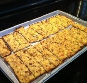 "Cauliflower ""Bread""sticks - Paleo *not on skillet"