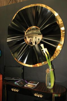 AD Show, NY 2012  RÊVE | Mirror  bykoket.com http://www.bykoket.com/all-products.php#mirrors