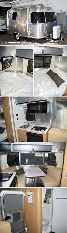 2015 AIRSTREAM SPORT 16 Travel Trailer. The Airstream Sport is an ultra-towable…