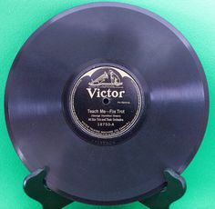 """1921 Victor 10"""" Shellac 78 RPM Record, All Star Trio, Play-Rated G+! - $3.95"""