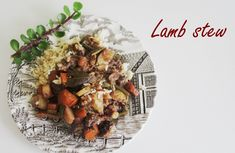 The ultimate wintery lamb stew!