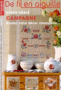 1000 images about livres revues de broderie on pinterest cross stitch wa - Salon fil en aiguille ...