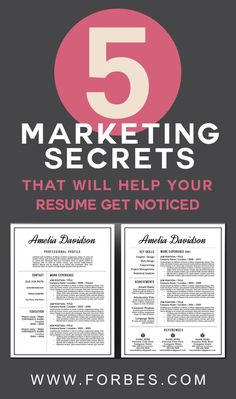 6 secrets of great resumes backed by psychology professional