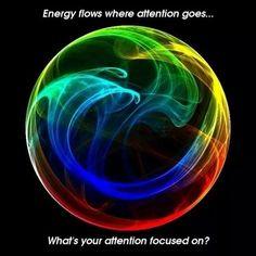 Energy follows Intention