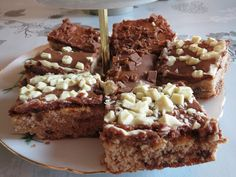 Daim-mokkapalat Cake Bars, Sweet Pie, Yummy Cakes, Yummy Treats, French Toast, Muffins, Sweets, Baking, Breakfast