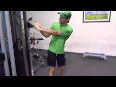 Golf Exercises And Explanation For More Power Lag And Hip Speed - YouTube