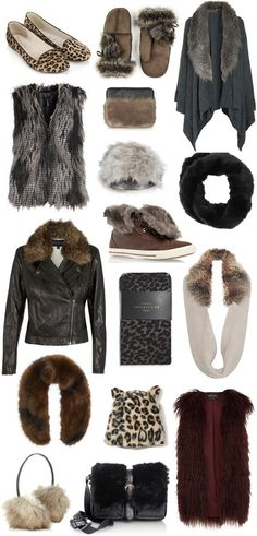 FUR: Less of a trend and more of a winter staple, as far as we're concerned #fur #winter #wardrobe #fauxfur #faux #trend #fashion