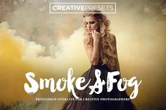 150 Smoke+Fog+Color Smoke Overlays by CreativePresets.com on @creativemarket