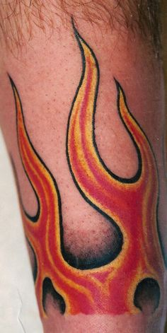 Todd\'s Forearm Flame Tattoo by PacoDe79 on DeviantArt | mine ...