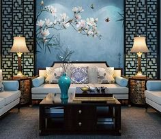 The Effective Pictures We Offer You About asian interior luxury A quality picture can tell you many things. You can find the most beautiful pictures that can be presented to you about asian interior z Asian Inspired Bedroom, Asian Bedroom Decor, Asian Inspired Decor, Asian Home Decor, Asian Style Bedrooms, Asian Wall Decor, Asian Interior Design, Chinese Interior, Interior Design With Wallpaper