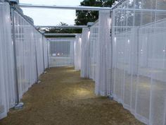 Resultado de imagem para curtain exhibition