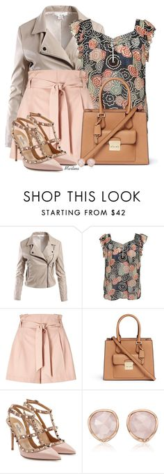 """Bez naslova #2715"" by martina-cciv ❤ liked on Polyvore featuring Sans Souci, Marc Jacobs, Miss Selfridge, Michael Kors, Valentino and Monica Vinader"