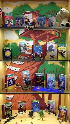 Magic Tree House Research Guides | Library Book Display