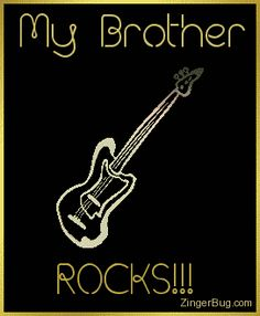 This comment features a rotating gold guitar charm graphic. The comment reads: My BFF Rocks! Birthday Messages, Birthday Images, Birthday Cards, Birthday Pictures, Birthday Quotes, Birthday Posters, 40 Birthday, Animated Heart Gif, Rock And Roll Fantasy