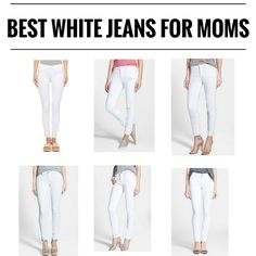 BEST WHITE JEANS FOR