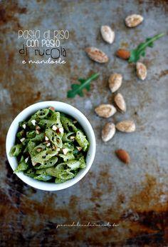 PANEDOLCEALCIOCCOLATO: Pesto di Rucola e mandorle con Tahin - Glutenfree
