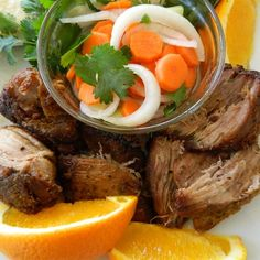 Orange and Milk-Braised Pork Carnitas   Transforming one of the cheaper cuts of pork into something delicious, this versatile carnitas recipe hits the mark!