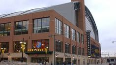 Bankers Life Fieldhouse - Home of the NBA Indiana Pacers & the WNBA Indiana Fever!  One of the best basketball arena's in the world.