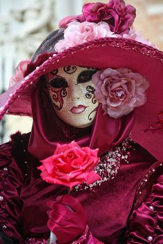 Lovely portrait at the 2011 Carnevale in Venice (IMG_3036a) by Alaskan Dude, via Flickr
