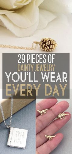 29 Inexpensive Pieces Of Dainty Jewelry You'll Wear Every Day