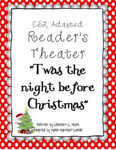 Twas the Night Before Christmas {ESL Adapted Reader's Theater}