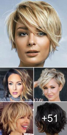 30 best short haircuts for women Bob Hairstyles Haircuts Short women Short Hair With Layers, Short Hair Cuts For Women, Short Hairstyles For Women, Hairstyles Haircuts, Trendy Hairstyles, Pixie Haircuts, Wedding Hairstyles, Long Haircuts, Modern Haircuts