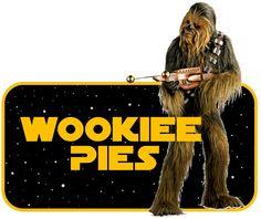 Star Wars Party Food Sign - Wookiee Pies