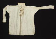 Man's white linen shirt American, 19th century United States DIMENSIONS 97 x 97 cm (38 3/16 x 38 3/16 in.) MEDIUM OR TECHNIQUE Linen plain w...
