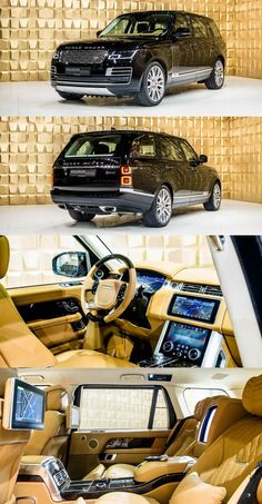 Land Rover Range Rover SV-Autobiography - Cars World Range Rovers, Range Rover Auto, Landrover Range Rover, Range Rover Sport, New Luxury Cars, Luxury Suv, Interior Range Rover, Jeep Range, Carros Suv