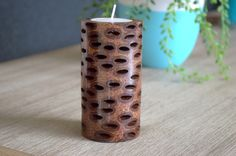 Banksia candle holder available on Etsy