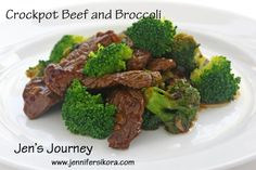 Crockpot Beef and Broccoli