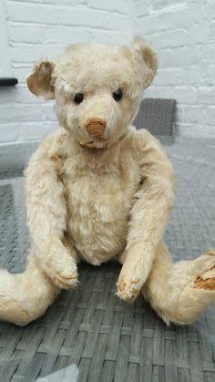 """ANTIQUE STEIFF BEAR 1900'S 13"""" in Dolls & Bears, Bears, Antique   eBay"""