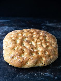 Basil Sea Salt Focaccia Bread Cob Bread, Yeast Bread, Orange Rolls, Bread Ingredients, Everything Bagel, Vegetarian Recipes Dinner, Cheap Meals, So Little Time, Kitchens
