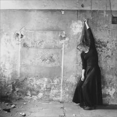 Francesca Woodman · Self Portrait | Self-timer · 1978 · Roma