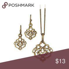 Selling this Proud Heritage Necklace & Earrings Gift Set in my Poshmark closet! My username is: pinchita78. #shopmycloset #poshmark #fashion #shopping #style #forsale #Avon #Jewelry