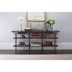 Villa Couture Asti Console Table in Bluestone - 510-85-05 - Living Room - Stanley Furniture