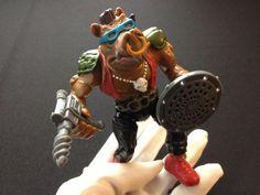 Bebop Teenage Mutant Ninja Turtles TMNT Figure 1988 via Etsy