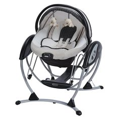 Graco Glider Elite Gliding Swing in Pierce is the revolutionary gliding swing that soothes with the same gentle motion you use when cuddling and comforting baby in your nursery glider. Baby Needs, Baby Love, Baby Baby, Best Baby Rocker, Baby Glider, Baby Swings And Bouncers, Baby Hammock, Graco Baby Swing, Furniture
