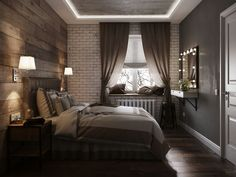 Bedroom Attic Decor Sleep Ideas For 2019 Dream Bedroom, Home Bedroom, Bedroom Decor, Suites, Bedroom Styles, Beautiful Bedrooms, Home And Living, Home Remodeling, Living Room Designs