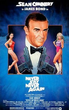 1983 - Never say never again met Sean Connery