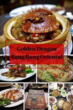 Golden Dragon restaurant at Bang Bang Oriental on What's Katie Doing? blog