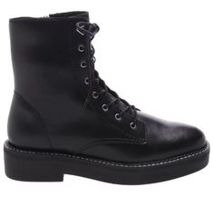 COTURNO BOLD BLACK Estilo Grunge, Skinny, Black Boots, High Tops, Combat Boots, High Top Sneakers, 1, Fashion, Black Jeans